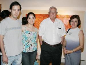 Carola Sánchez, Gretel Romo, Federico Ramos y Federico Salas.