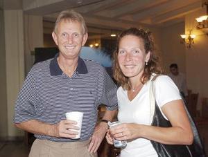 Craig Hoogendoorn y Kelley Frieman.
