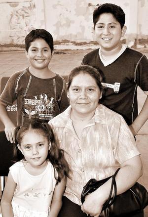 María Alicia Fernández, Aylín Susana Arias, José Luis Ramos y Fernando Rentería.