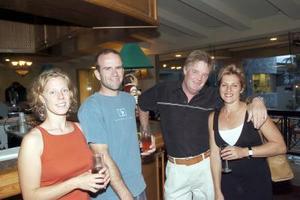 Megan Walker, Paul Kemp, Francine Monette y Richard Hamelin.