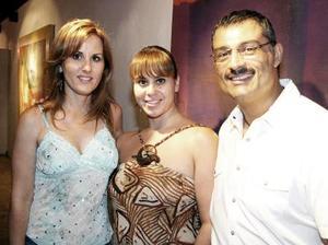 Susana Jalife, Lupe Villarreal y Gerardo Galindo.