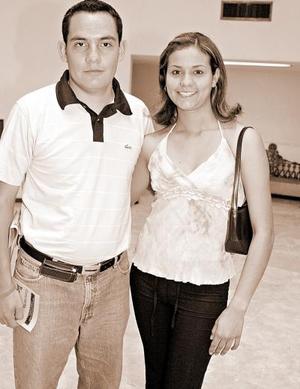 Yésica Ponce y Armando Gaspar.