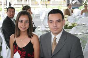 Adriana López de la Rosa y Daniel Romero.