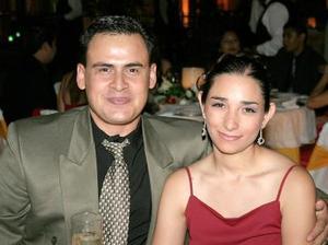 Eduardo y Gabriela Riesco.