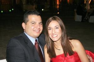 Fabián Montoya y Gabriela Gómez.