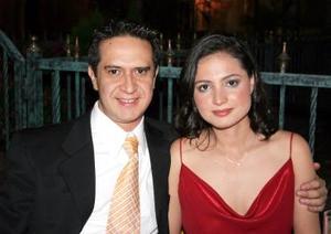 Jesús Reyes y Liliana Iturriaga.