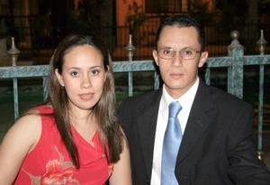 Judith de Saldaña y César Saldaña.