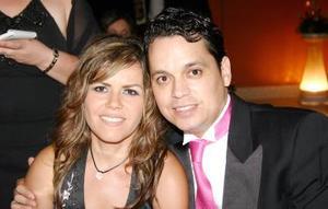 Silvia de Martínez y Ricardo Martínez.