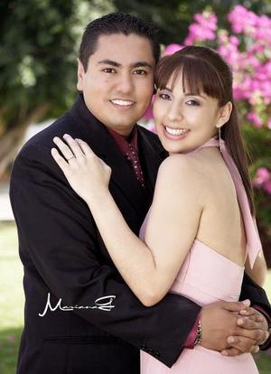 Sr. José Olvera Falcón y Srita. Nancy Araceli Fraire López efectuaron su presentación religiosa y contrajeron matrimonio civil el pasado 30 de abril.