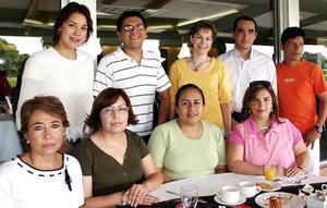 Alicia Jaime, Norma Figueroa, Alicia Luévano, Patricia Espadas, Rafael Serna, Luis Gómez, David González, Sofía Pámanes y Susana Estens.