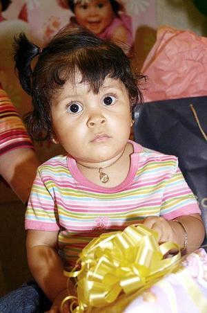 Ana Sofía López festejó su primer cumpleaños.