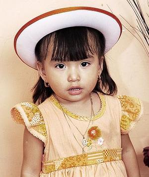 La pequeña Guadalupe Estefanía Rodríguez García cumplió dos años de vida, por lo que le fue celebrado con una fiesta.