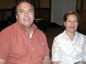<b>24 de agosto 2005</b><p> Roque Márquez y Leticia S. de Márquez.