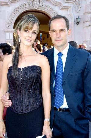 Ana Carmen y Ernesto Sesma.