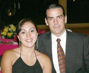 Cynthia y Jorge Buergo.