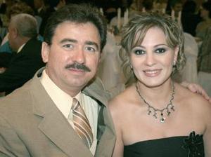 Eugenio y Martha de la Garza.