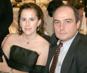 Lourdes y Jesús Ruenes.