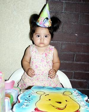 Marissa Rodríguez Espino fue festejada por sus papás, Paty Espino de Rodríguez y Mario Rodríguez Ledesma, con una alegre reunión con motivo de su primer año de vida.