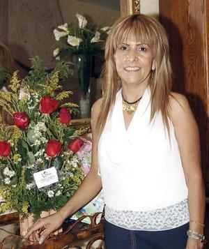Betty Leaños de Aguilera celebró su cumpleaños en días pasados.