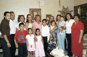 <b>26 de agosto 2005</b><p>  Iván Pedroza Fraire festejó su cumpleaños con una reunión familiar que le organizaron sus padres.