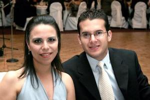 Blanca Gutiérrez y José Fernando Cázares.