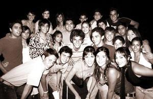 Con motivo de su viaje de estudios a Oregon, Miguel Perales Galván disfrutó de una fiesta organizada por sus papás, Alfonso Perales y Norma Galván de Perales, a la que asistieron sus múltiples amistades.