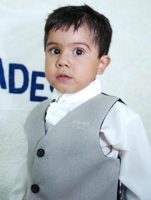 José Uriel Hernández Arriaga festejó tres años de edad, con una divertida fiesta infantil, en días pasados.