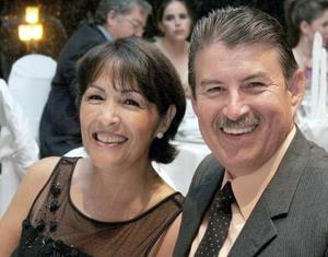 Silvia de Campos y Eduardo Campos.