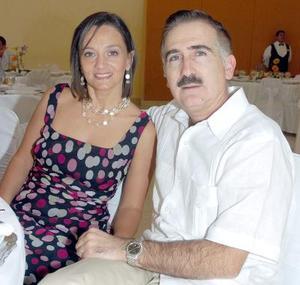 Adriana García de Porte y Adrián Porte.