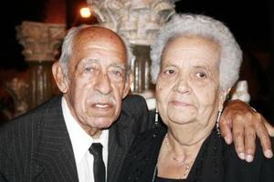 Don Alfonso y doña Olga.