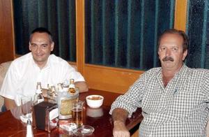 Enrique Tueme y Gerardo Lugo.