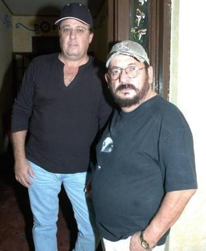Gerardo Moscoso y Rafael Nájera.
