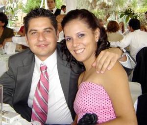 Miguel Ángel Mena y Fernanda Belmont.