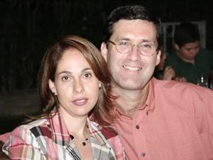 Claudia de Ríos y Ciro Ríos.