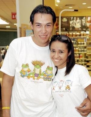 Isa Soto y Jonathan Martínez.
