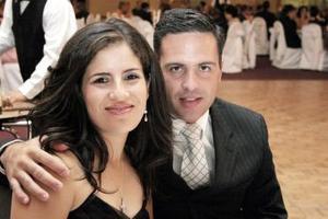Lorena de Sada y Sergio Sada.