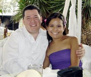 Ollivier Azuara y Rocío Camacho.