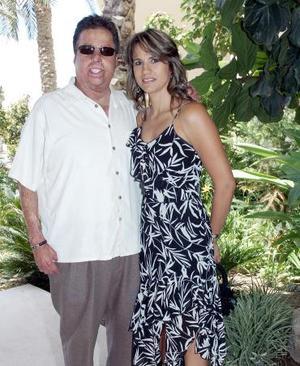 Raúl y Claudia Treviño.
