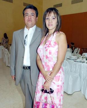 Sergio Peimbert y Rosa María Reyes.
