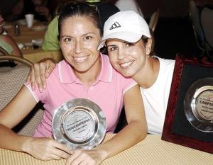 Marilú González y Dora Chibli.