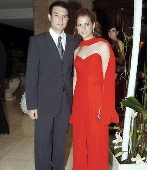 Fer Treviño y Dadia Giacomán.