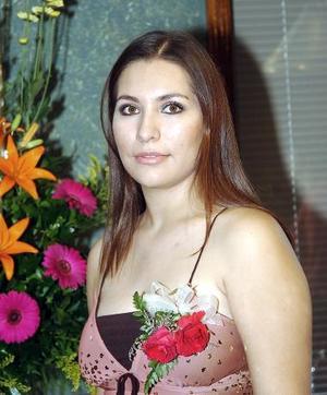 <b>31 de agosto 2005</b><p> Karla Villanueva Lechuga el día de su despedida de soltera.