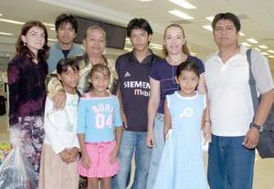 <B>03 de septiembre 2005</b><p> La familia Sánchez Rubio viajó a Irán.