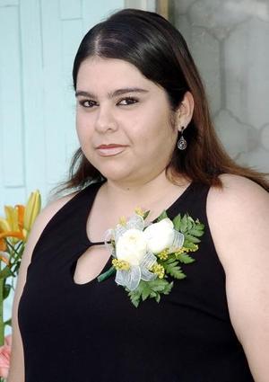 Lorena Martínez García, captada en su despedida de soltera.