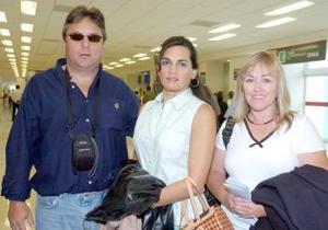 Luis Barroso, Lucero Murguía y Patricia Alatorre viajaron a México DF.