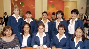 Irma Muela, Rocío Hurtado, Tere Gamdare, Claudia Mesta, Brenda López, Lolys Galeana, Coco Sifuentes, Mirna Moreno, Guadalupe Loera y Carmen Sotelo.
