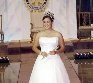 Cynthia I fue coronada el viernes pasado como la reina de la Feria de Torreón.