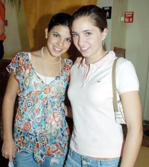 Lety Cepeda y Luzma Arriaga.