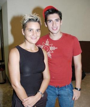 Mireya Sobrino y Carlos Villarreal.