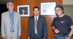 Carlos Huereca, Luis Ramírez y Armando Monsiváis.